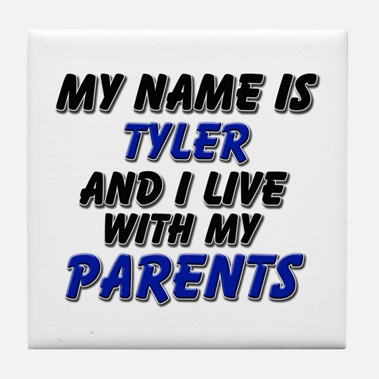 my name is tyler and I live with my parents Tile C