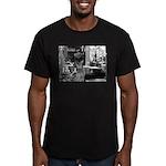 Kibble at Tiffany's Men's Fitted T-Shirt (dark)