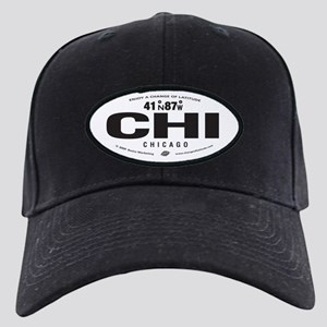 Chicago Destination Products Black Cap