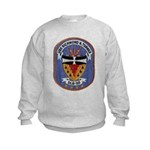 USS RICHMOND K. TURNER Kids Sweatshirt