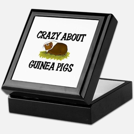 Crazy About Guinea Pigs Keepsake Box