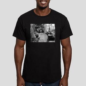 Tuna at Tiffany's Men's Fitted T-Shirt (dark)