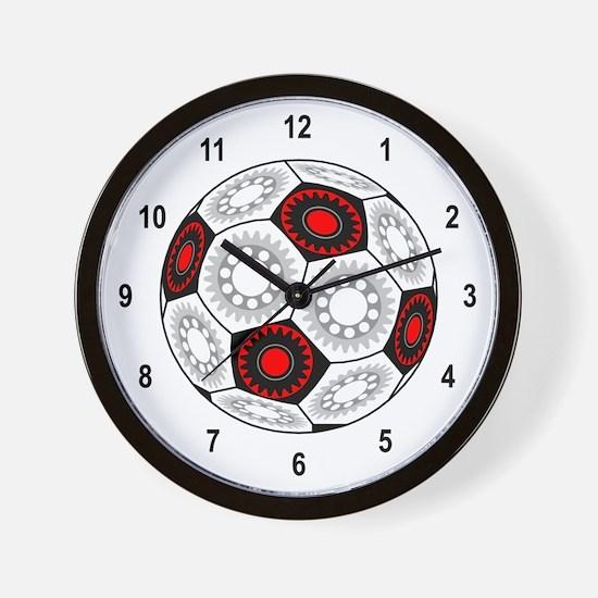 Mechanical Soccer Wall Clock