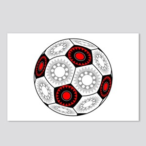 Mechanical Soccer Postcards (Package of 8)