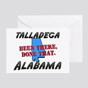 talladega alabama - been there, done that Greeting