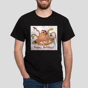 Christmas Octopus T-Shirt