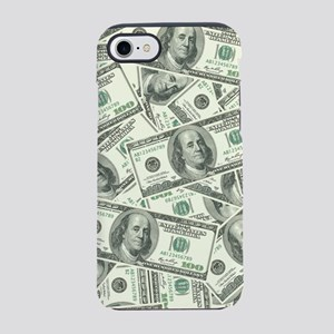 100 Dollar Bill Money Pattern iPhone 7 Tough Case