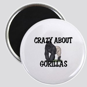 Crazy About Gorillas Magnet