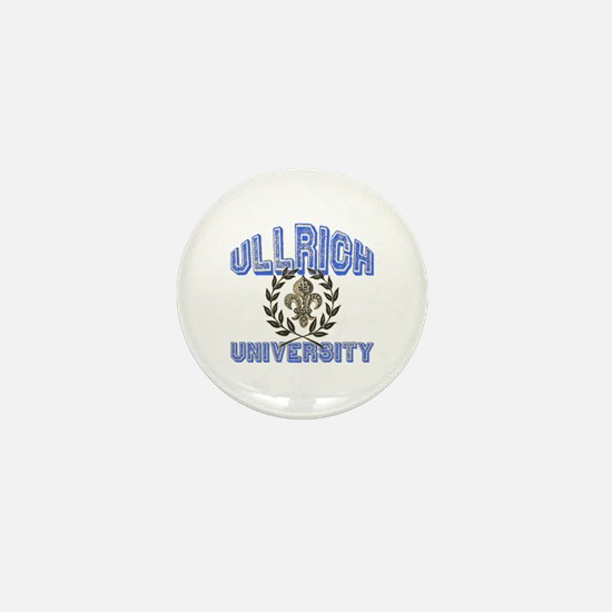 Ullrich Last Name University Mini Button