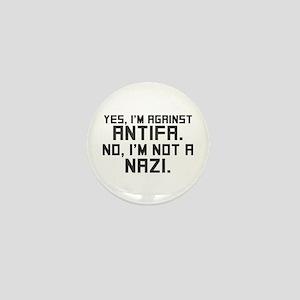 Not A Nazi Mini Button