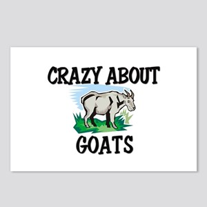 Crazy About Goats Postcards (Package of 8)