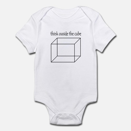 Think outside the cube Infant Bodysuit