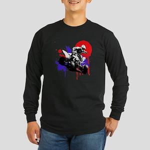 Red Splatter ATV Long Sleeve T-Shirt