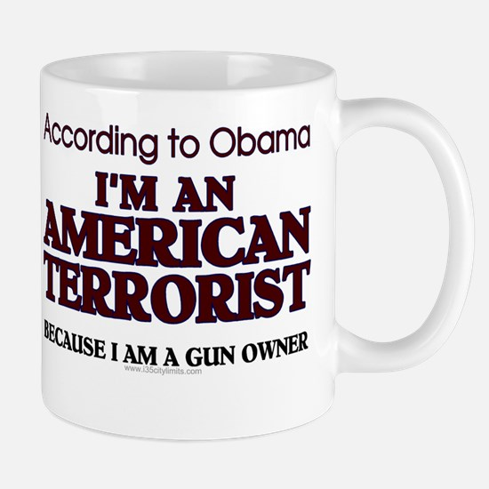 American Terrorist Mug