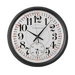 Hamilton Railroad Pocket Watch Large Wall Clock