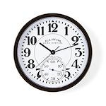 Illinois Bunn Special 1 Wall Clock