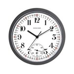 Howard Railroad Pocket Watch Wall Clock