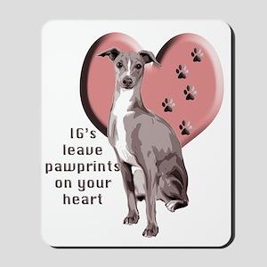 Italian Greyhound Mothers Day Mousepad
