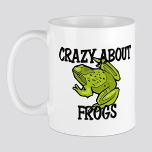 Crazy About Frogs Mug