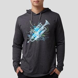 Cool Grunge Trumpet Long Sleeve T-Shirt