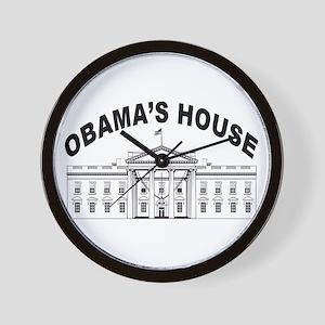 President barack Obama Wall Clock