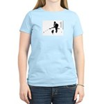Barack Obama + Bo Running Women's Light T-Shirt