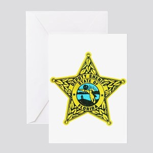 Florida Sheriff Greeting Card
