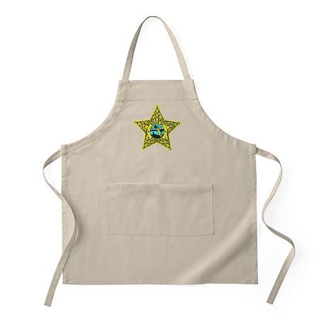 Florida Sheriff BBQ Apron