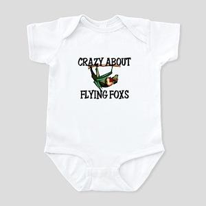 Crazy About Foxes Infant Bodysuit