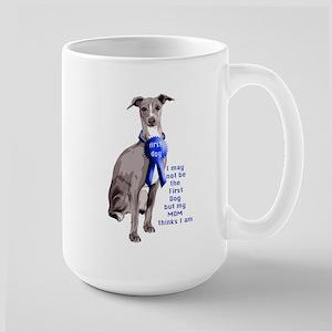 First dog IG Large Mug