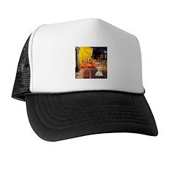 Cafe / Scottie (w) Trucker Hat