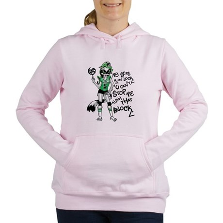 Ricci the Volleybragswag Raccoon Setter Sweatshirt