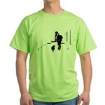 Barack Obama + Bo Running Green T-Shirt