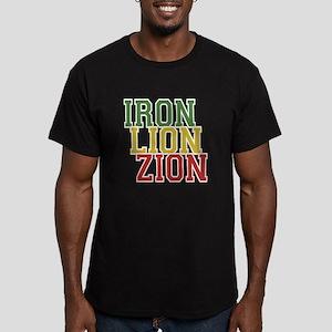Iron Lion Zion Men's Fitted T-Shirt (dark)