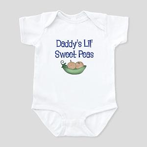 Daddy's Lil' Sweet Peas Infant Bodysuit
