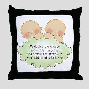 Double The Fun Throw Pillow