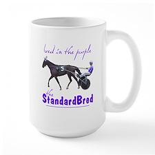 Bred in the Purple Large Mug