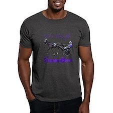 Bred in the Purple Dark T-Shirt