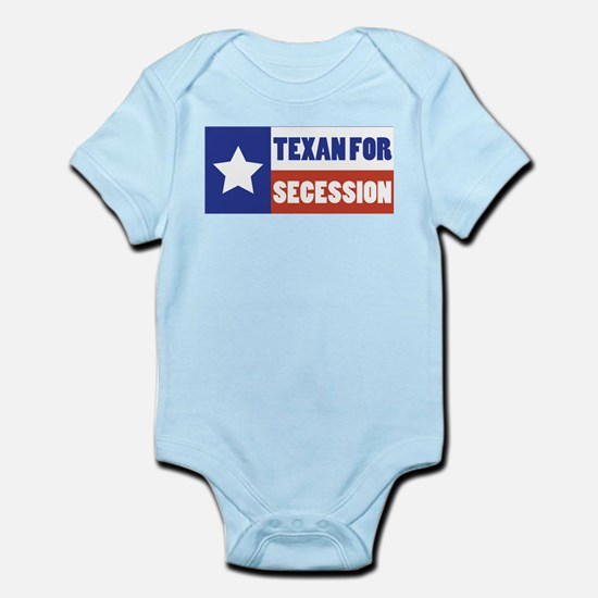 Texan for Secession Infant Bodysuit