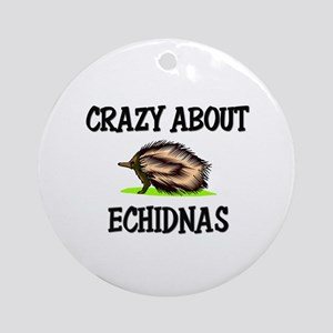 Crazy About Echidnas Ornament (Round)