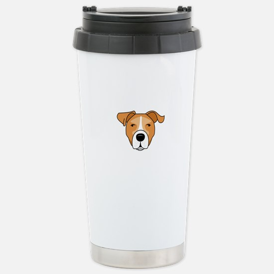 Caricature Stainless Steel Travel Mug