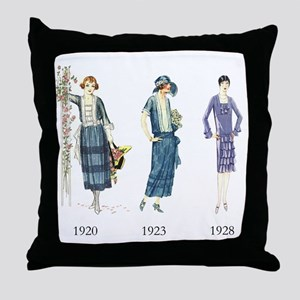 1920s Throw Pillow