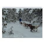 MCK Racing Siberians Wall Calendar