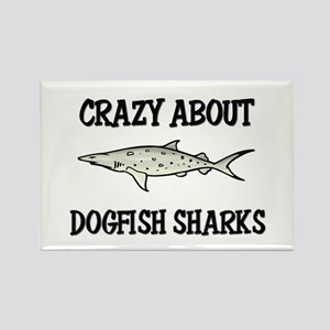 Crazy About Dogfish Sharks Rectangle Magnet