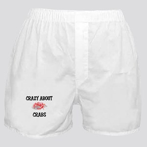 Crazy About Crabs Boxer Shorts