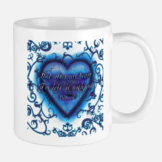 Edward's Heart-Twilight Mug