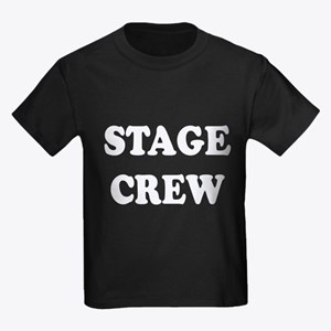 stage crew white T-Shirt