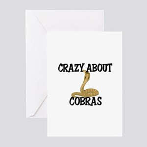 Crazy About Cobras Greeting Cards (Pk of 10)