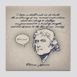 Jefferson-Epic Fail Tile Coaster