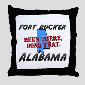 fort rucker alabama - been there, done that Throw